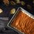 raw pumpkin pie on the wooden table top view stock photo © karpenkovdenis