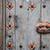 Blauw · verf · oude · houten · hout · achtergrond - stockfoto © karpenkovdenis