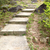 hiking steps in mountains stock photo © kawing921
