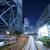 stoplicht · centrum · gebouw · licht · achtergrond · Blauw - stockfoto © kawing921