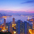hong kong at sunset moment stock photo © kawing921