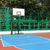 Basketballplatz · Himmel · Hintergrund · Fitnessstudio · blau · Spaß - stock foto © kawing921