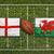 Англии · против · Уэльс · флагами · регби · области - Сток-фото © kb-photodesign