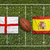england vs spain flags on rugby field stock photo © kb-photodesign
