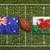 vs · Wales · zászlók · rögbi · mező · zöld - stock fotó © kb-photodesign