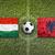 Magyarország · vs · Albánia · zászlók · futballpálya · zöld - stock fotó © kb-photodesign