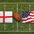 england vs usa flags on rugby field stock photo © kb-photodesign