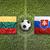 vs · zászlók · futballpálya · zöld · csapat · labda - stock fotó © kb-photodesign