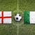 england vs italy flags on soccer field stock photo © kb-photodesign