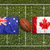 Canadá · rugby · bandeira · grama · verde · campo - foto stock © kb-photodesign