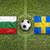 piłka · banderą · Bułgaria · piłka · nożna · mistrzostwo · 3D - zdjęcia stock © kb-photodesign