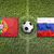 balón · de · fútbol · bandera · Rusia · fútbol · campeonato · 3D - foto stock © kb-photodesign