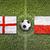 england vs poland flags on soccer field stock photo © kb-photodesign