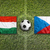 Hungary vs. Czech Republic flags on soccer field stock photo © kb-photodesign