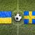 ウクライナ · 対 · スウェーデン · フラグ · 緑 - ストックフォト © kb-photodesign