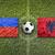 bandeiras · campo · de · futebol · verde · equipe · bola · país - foto stock © kb-photodesign
