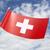 флаг · Blue · Sky · бумаги · ветер · Европа - Сток-фото © kb-photodesign