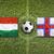 bandera · Hungría · húngaro · cielo · azul · nubes · sol - foto stock © kb-photodesign