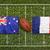 bandeira · França · pintar · cores · azul · pintura - foto stock © kb-photodesign