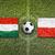 Macaristan · vs · Polonya · bayraklar · futbol · sahası · yeşil - stok fotoğraf © kb-photodesign