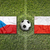 República · Checa · vs · Polonia · banderas · campo · de · fútbol · verde - foto stock © kb-photodesign