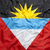 Textile flag of Antigua and Barbuda stock photo © kb-photodesign