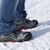 Safety shoes in the snowy mountains stock photo © kb-photodesign