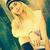 blond · meisje · luisteren · mp3-speler · gelukkig · glimlachend - stockfoto © keeweeboy