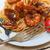 итальянский · морепродуктов · спагетти · пасты · красный · томатном · соусе - Сток-фото © keko64