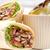 куриные · лаваш · катиться · сэндвич · традиционный - Сток-фото © keko64