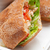 ciabatta panini sandwich with chicken and tomato stock photo © keko64