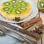 plakje · vla · taart · voedsel · diner · ontbijt - stockfoto © keko64