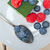 緑茶 · ケーキ · 液果類 · ラズベリー · ブルーベリー · 先頭 - ストックフォト © keko64