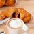 friss · croissant · francia · kávé · tipikus · hagyományos - stock fotó © keko64