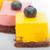 strawberry and mango mousse dessert cake stock photo © keko64