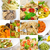 collection of different type of italian pasta collage stock photo © keko64