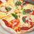 pizza · fatto · in · casa · alimentare · sfondo · verde · mangiare - foto d'archivio © keko64
