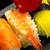 szusi · tányér · fekete · kavicsok · hal · háttér - stock fotó © keko64