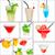 meyve · içecekler · kolaj · restoran · yaz · meyve · çilek - stok fotoğraf © keko64