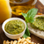 bruschetta · pesto · molho · queijo · parmesão · fresco · manjericão - foto stock © keko64
