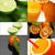 collage · jus · chaux · blanche · vert · citron - photo stock © keko64