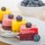 Rood · bes · dessert · vla · pudding · aardbei - stockfoto © keko64