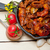 İtalyan · domates · lezzetli · makarna · lüks - stok fotoğraf © keko64