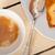 pruim · cake · espresso · koffie · witte · rustiek - stockfoto © keko64