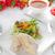 mixto · ensalada · pan · queso · comer · comedor - foto stock © keko64