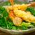 fresh japanese tempura shrimps with salad stock photo © keko64