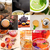 collection of different herbal tea infusion collage stock photo © keko64