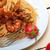 italiana · frutti · di · mare · spaghetti · pasta · rosso · salsa · di · pomodoro - foto d'archivio © keko64