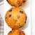vers · chocolade · rozijnen · muffins · papier - stockfoto © keko64