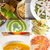 sopa · de · tomate · colagem · verão · tomates · cereja - foto stock © keko64